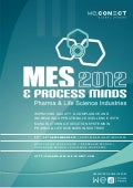 Mes & Process Minds 2012 Agenda