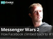 Messenger Wars: How Facebook Climbed Back to #1
