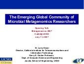 The Emerging Global Community of Mi...