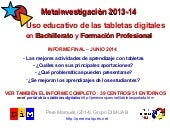 Uso educativo de las tabletas digit...