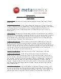 Metanomics transcript june 9 2010
