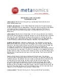 Metanomics Transcript Nov 18 2009