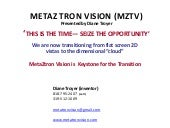 MetaZtron holographic Z depth factor
