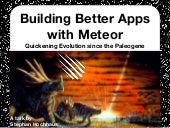 Introduction to Meteor - revised edition