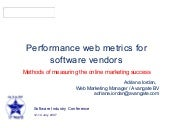 Methods of measuring the online mar...