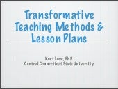 Transformative Teaching Methods