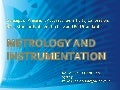 Metrology Assignment Ppt