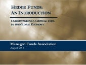 MFA Hedge Funds 101
