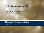 U.S. Regulation 101: Guide to U.S. ...