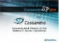 Cassandra Anti-Patterns