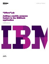 IBM MobileFirst Platform v7.0 POT Offers Lab v1.0