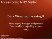 Science Online 2013: Data Visualization Using R