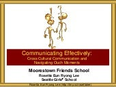 Moorestown Friends School Communicating Effectively