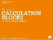 Using calculation blocks in financi...
