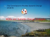 MDGs Systemic Change Strategies