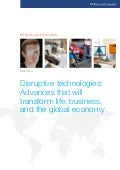 Disruptive Technologies full report May 2013