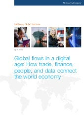 (McKinsey) Global flows in a digita...