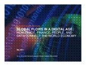 Global flows in a digital age