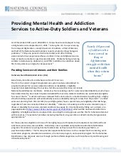 Mh and addiction services for servi...