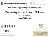 #1 Preparing for Health Care Reform