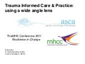 MHCC & ASCA co-presentation THEMHS ...
