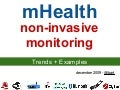 Non Invasive Health Monitoring with mHealth