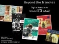 Beyond the Trenches - Digital Resources from the University of Oxford