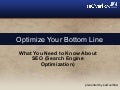 Optimize Your Bottom Line: Mile High Young Professionals Education Seminar