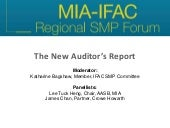 The New Auditor's Report