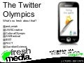 The Twitter Olympics