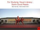 For Studying Visual Literacy: Some Good Reads