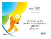 MIBPC 2010/2011 Briefing Slide