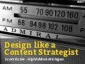 Design like a Content Strategist