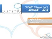 WOMMA Summit - Social Customer