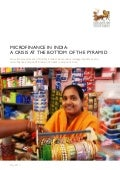 Microfinance Crisis at the Bottom of the Pyramid