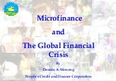 Microfinance and the Global Financi...
