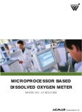 Microprocessor Based Dissolved Oxygen Meter by ACMAS Technologies Pvt Ltd.