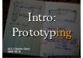 Intro: Prototyping