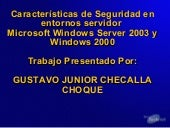Microsoft Windows Server 2003 Y Win...
