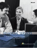 Microsoft Dynamics CRM - Financial Services Overview