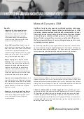 Microsoft Dynamics CRM - Health And Social Services Whitepaper