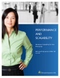 Microsoft Dynamics CRM - Performance And Scalability Datasheet