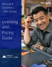 Microsoft Dynamics CRM Pricing and ...