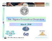 Six Sigma Executive Overview