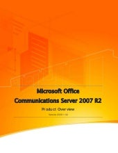 Microsoft Unified Communications - ...