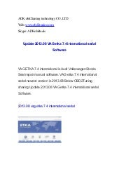 Update 2013.08 VAG etka 7.4 interna...