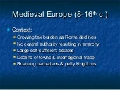 Middle Ages Europe