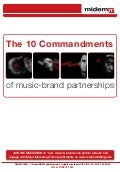 The 10 Commandments of Music-Brand Partnerships