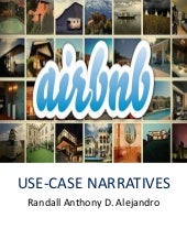 Midterm Use Case Narratives