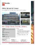 Midtown toronto   office space for lease - july 2012